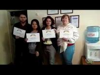 Группа Бухгалтер Универсал закончила курс на Бухкурс. Кз у преподавателя Раушан Анваровны, 24.05.2019г. Все остались очень довольны!